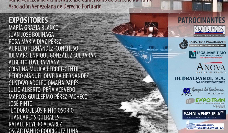 Jornada de Derecho Marítimo y Portuario