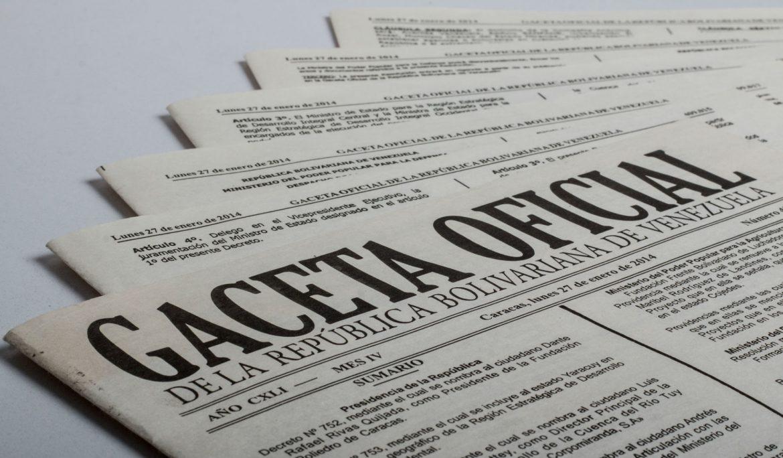 Publicado en Gaceta Oficial aumento del salario mínimo integral