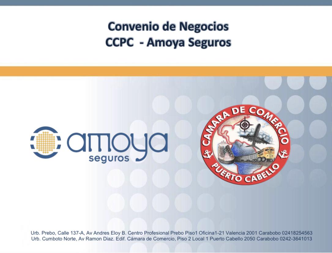 Conoce la alianza de la Cámara de Comercio de Puerto Cabello y Amoya Seguros