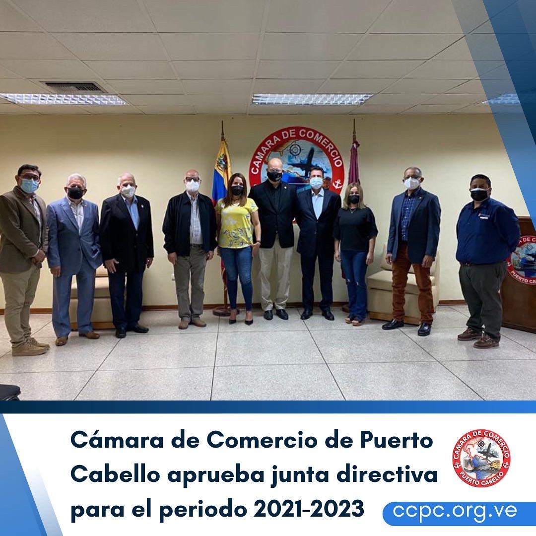 Cámara de Comercio de Puerto Cabello aprueba junta directiva para el periodo 2021-2023